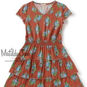 New! MATILDA JANE Women M Looks to Frill Dress